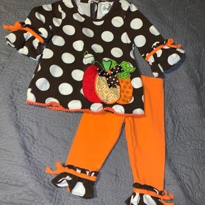 Baby Girl Boutique Fall Outfit